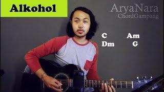 Download Mp3 Chord Gampang  Alkohol - Sisitipsi  By Arya Nara  Tutorial Gitar  Untuk Pemula
