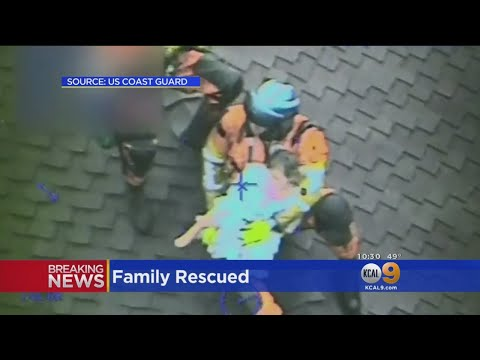 Stories Of Survival: Montecito Family Rescued From Dangerous Mudslide