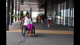 Kenyan-British Paralympian, Anne Wafula living in the UK speaks about her experience