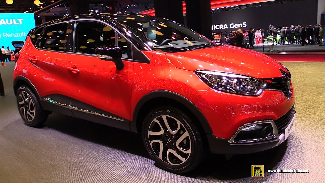 2017 renault captur exterior and interior walkaround. Black Bedroom Furniture Sets. Home Design Ideas