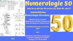 Ganzheitliche Numerologie - die Zahl 50