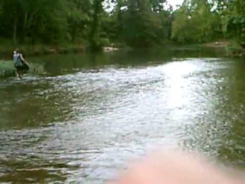 Dewey krieger fishing the james river located near nixa for James river fishing