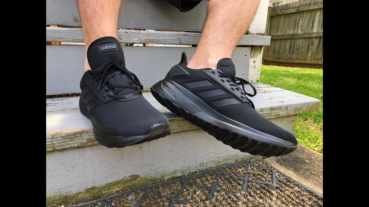 promedio Experto Paciencia  Adidas Duramo 9 |on feet review| - YouTube