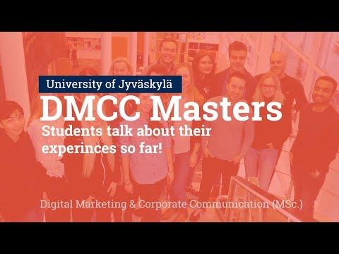DMCC masters program - Student experiences || University of Jyväskylä