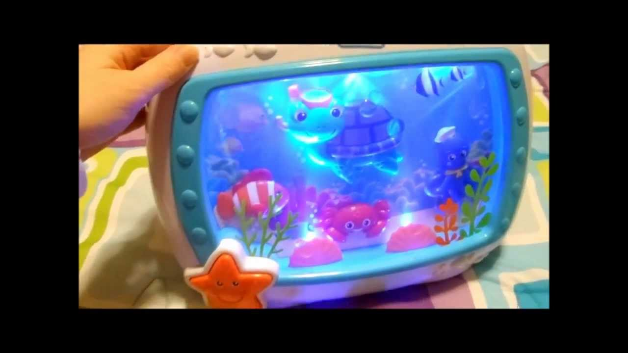 Baby Einstein Sea Dreams Soother Crib Toy Youtube
