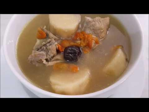 Huai Shan Soup (Herbal Taste Soup)