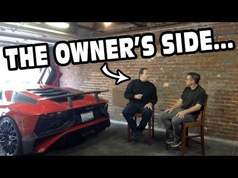 Owner Fills In Missing Details On Guy Walking Over Lamborghini