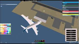 ROBLOX: Impacts at Pilot paradise! A380!