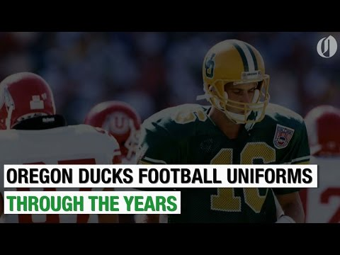25 times Oregon Ducks uniforms have turned heads