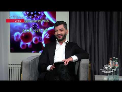 Panarmenian Live With Ara Kazaryan &  Mher Baghdasaryan  05.05.20.