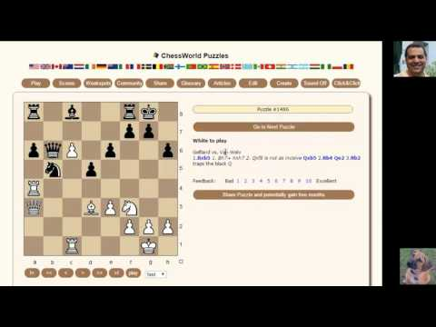 How to solve Chess Puzzles: Chessworld.net Puzzle Practice #39