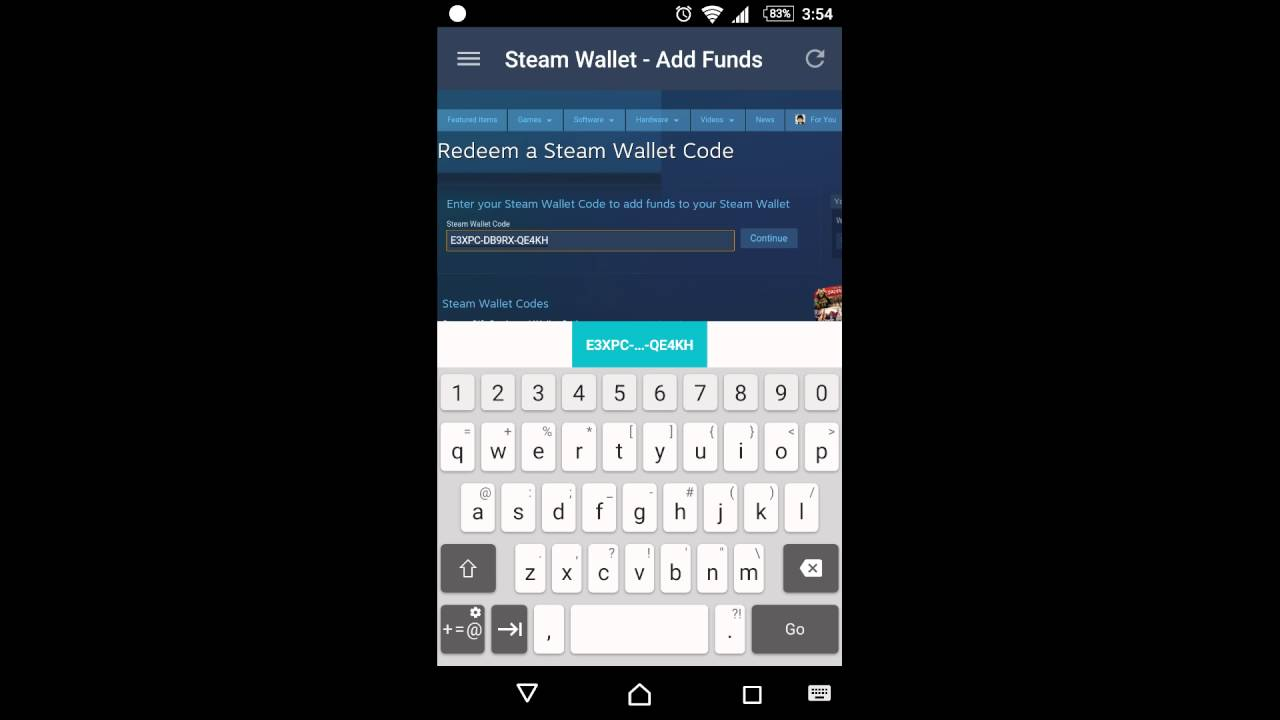 Malaysia Steam Wallet Code redemption showcase - YouTube