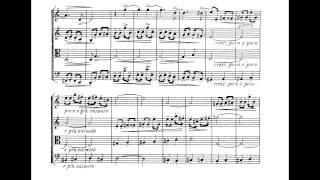 Borodin: String Quartet № 1—I. Moderato--Allegro.