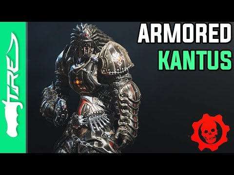 "Gears of War 4 Multiplayer Gameplay - ""Armored Kantus"" Character Gameplay (GOW4 Armored Kantus)"
