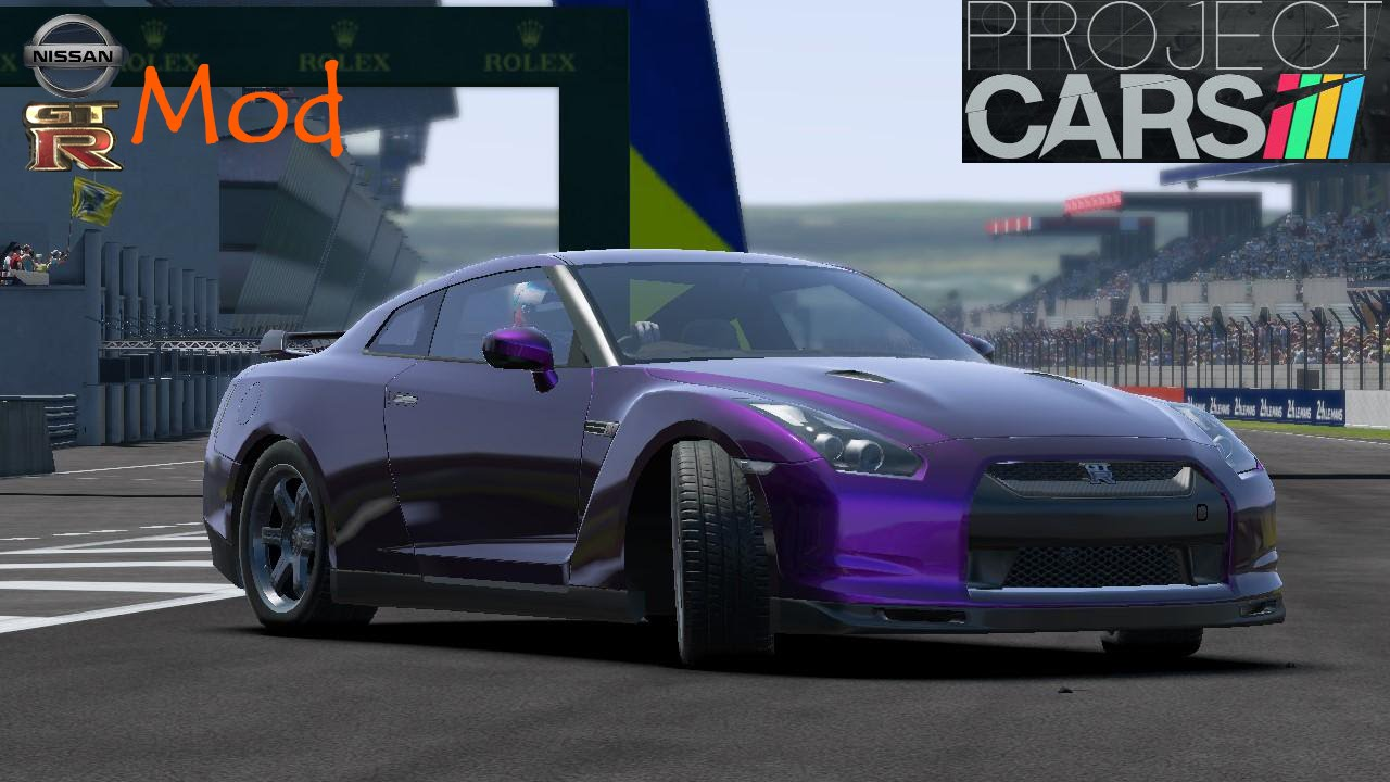 project cars gameplay mods nissan gtr r35 youtube. Black Bedroom Furniture Sets. Home Design Ideas