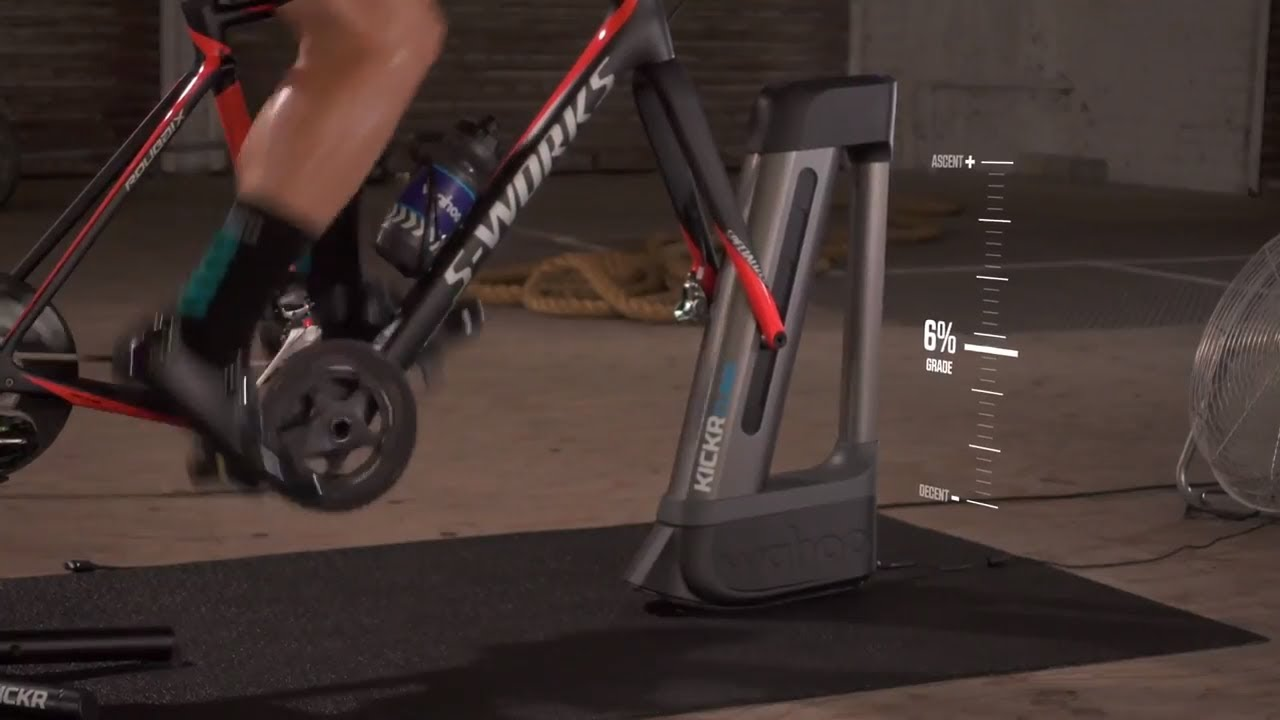 KICKR CLIMB Indoor Grade Simulator