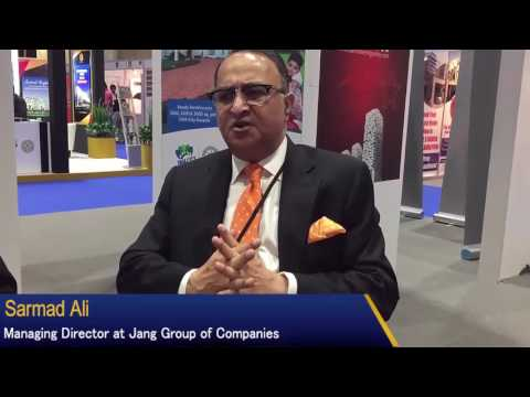 Sarmad Ali, Managing Director at Jang Group of Companies Interview with Muhammad Siddique