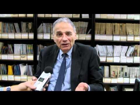 Ralph Nader interview Part 1