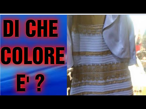 Vestito blu e nero bianco e dorato