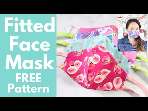 how-to-sew-a-close-fitted-fabric-face-mask-|-sweet-red-poppy