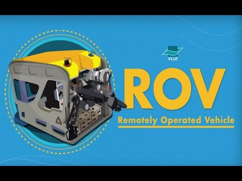 ROV Genesis, the underwater robot of Flanders Marine Institute