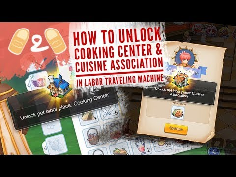 Ragnarok Eternal Love How to Unlock Cooking Center and Cuisine Association Level 70 Gameplay