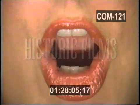 "WRIF ""Remarkable Mouth"" Ad - c. 1986"