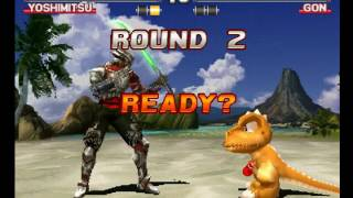 Tekken 3 ( PS1 ) - Yoshimitsu - Arcade Mode - Original Music ( May 16, 2017 ) thumbnail