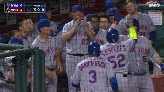 Cespedes' two-run shot puts Mets in front