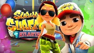 Subway Surfers ATLANTA vs MONACO Android Gameplay #1