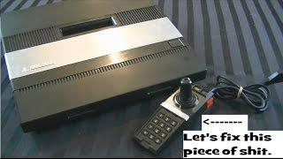 Gamerade - Easily Fix an Atari 5200 Controller  - Adam Koralik
