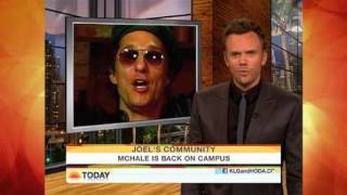 Joel McHale on Kathie Lee and Hoda