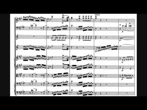 Wolfgang Amadeus Mozart  Clarinet Concerto in A major, K 622