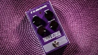 TC Electronic THUNDERSTORM (Flanger) - in depth review