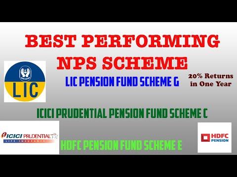 हिंदी - Top 3 Performing NPS Schemes | LIC Pension Fund | ICICI Pension Fund | HDFC Pension Fund