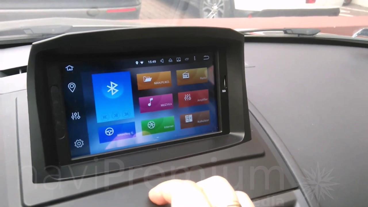 Radio Nawigacja Android Renault Megane Grandtour Navipremium Youtube