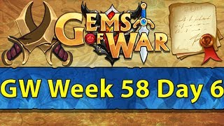 ⚔️ Gems of War Guild Wars | Week 58 Day 6 | Testing Qilin in GW and Dinosaurs Next Week! ⚔️