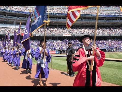 NYU Commencement 2017--Full Program