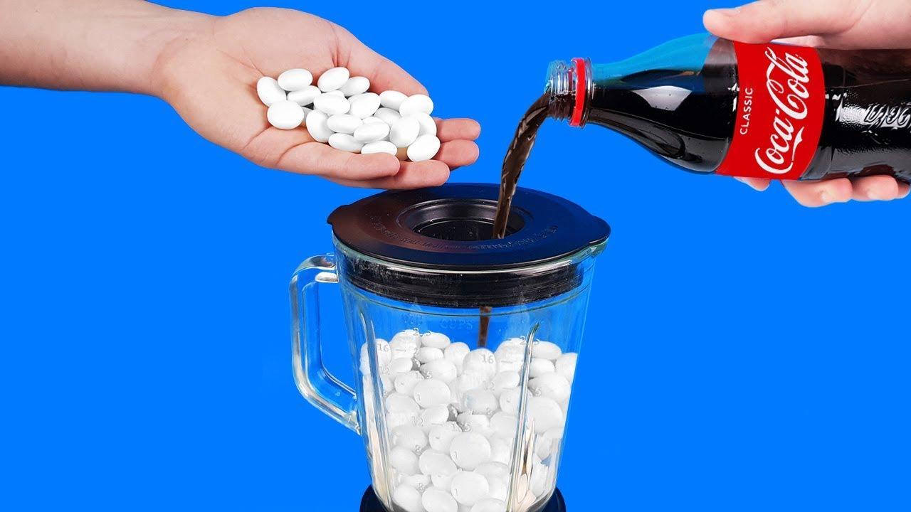 experiment-liquidiser-vs-coca-cola-and-mentos
