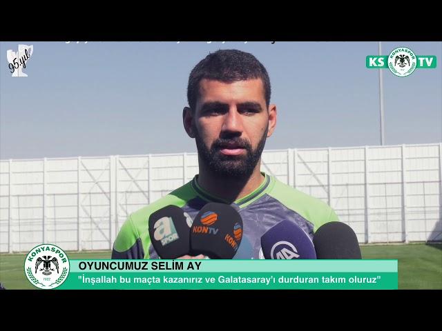 Oyuncularımız Mehdi Bourabia, Selim Ay ve Ferhat Öztorun'un Galatasaray maçı öncesi açıklamaları
