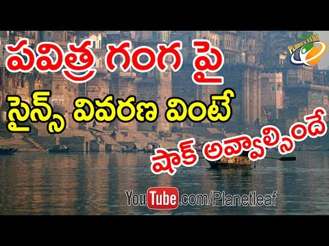 Shocking And Unbelievable Scientific Facts About Ganga-గంగ నీటిలో ఏముందో తెలిస్తే షాక్ అవ్వక తప్పదు