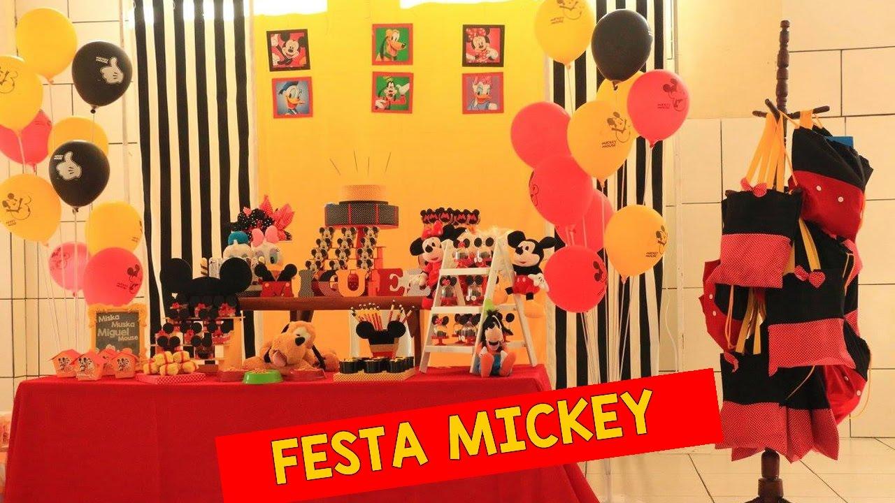 decoracao festa do mickey : IDEIAS PARA DECORA??O FESTA MICKEY / CASA DO MICKEY # ...