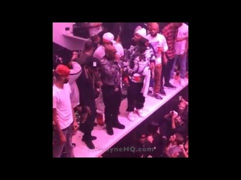 Birdman Lets Everyone Know At LIV Nightclub That Lil Wayne Is His Son & He Will Die For Him