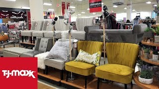 TJ MAXX SPRING FURNITURE CHAIRS TABLES HOME DECOR SHOP WITH ME SHOPPING STORE WALK THROUGH 4K thumbnail