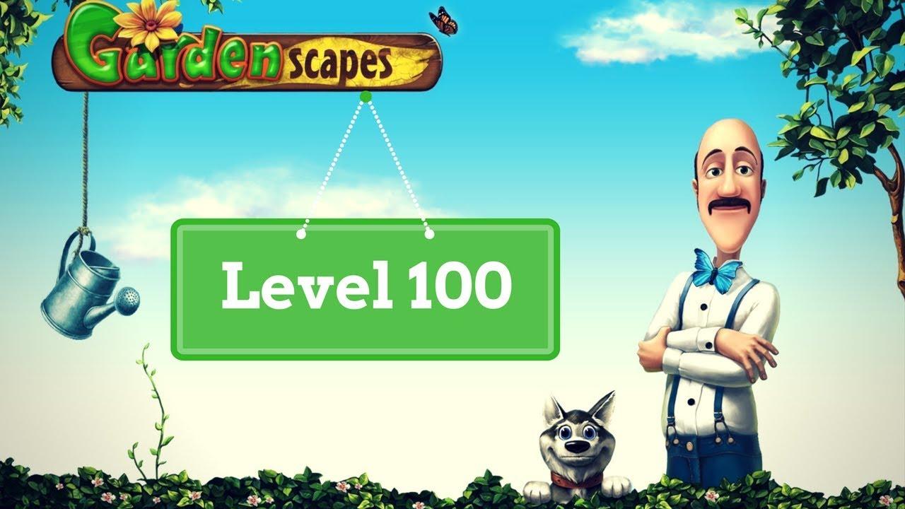 Gardenscapes Level 100
