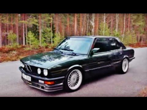 Bmw Alpina B7 Turbo E28 Quick Look Youtube