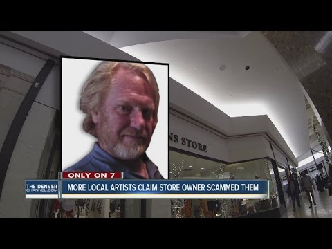 More local artists say the owner of a Cherry Creek mall Christmas store owes them money