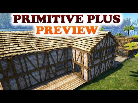 ARK   PRIMITIVE PLUS PREVIEW   First Look of the mod   Lot's of frustrations