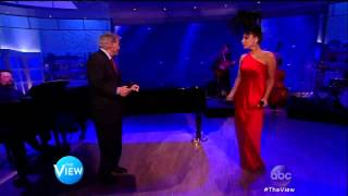 Lady Gaga Feat.Tony Bennett - Cheek To Cheek on The View