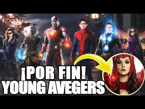 ¡ESTO ES REAL! Los Young Avengers en planes de Marvel Studios antes de New Avengers llegue